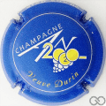 Champagne capsule 1112.c An 2020, bleu