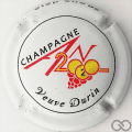 Champagne capsule 1112 An 2020, contour blanc