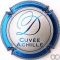 Champagne capsule 9 Cuvée Achille, contour bleu