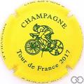 Champagne capsule  Tour de France TDF 2017