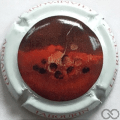 Champagne capsule A1 Art, verso rouge