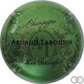 Champagne capsule 5 Fond vert métallisé