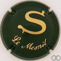 Champagne capsule 4 Vert et or