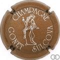 Champagne capsule 12.a Marron clair et argent