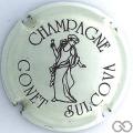 Champagne capsule 13 Crème pâle et marron