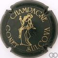 Champagne capsule 18 Vert et or mat