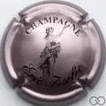 Champagne capsule 5 Rosé-violacé et noir