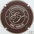 Champagne capsule 1.a Marron foncé et crème