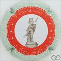 Champagne capsule 13.c Cercle rouge-orangé