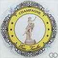 Champagne capsule 13.d Cercle jaune