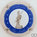 Champagne capsule 13.b Cercle bleu