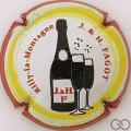 Champagne capsule 4.d Contour rouge