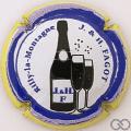 Champagne capsule 4.b Contour jaune