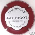 Champagne capsule 5.a Contour bordeaux