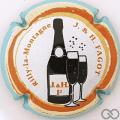 Champagne capsule 4.a Contour bleu pâle