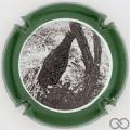 Champagne capsule 2.e Contour vert et noir