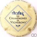 Champagne capsule 666 Personnalisée sur n° 666