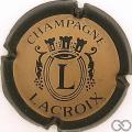 Champagne capsule 2 Noir et or mat