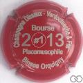 Champagne capsule  Bourse 2013