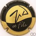 Champagne capsule 6.d Or et noir