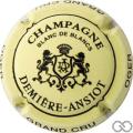 Champagne capsule 3 Crème et noir