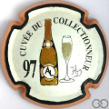 Champagne capsule 19 PALM,  Bouteille or