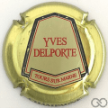 Champagne capsule 13.b Millésime, contour or