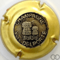 Champagne capsule 26 Insert or 2004