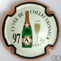Champagne capsule 18 PALM,  Bouteille verte