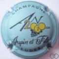 Champagne capsule 1112.i An 2020, bleu mat