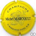 Champagne capsule 1 Jaune et bleu foncé