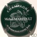 Champagne capsule 4 Vert foncé et blanc