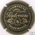 Champagne capsule 4 Noir et or, striée