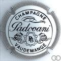 Champagne capsule 7 Blanc et noir, striée