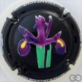 Champagne capsule 11.b Iris, émaillée
