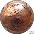 Champagne capsule 1 Cuivre et noir
