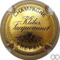 Champagne capsule 10 Or et noir, striée