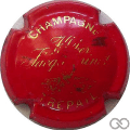 Champagne capsule 5 Rouge et or