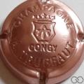 Champagne capsule 5.n Estampée rosé