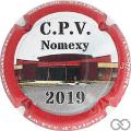 Champagne capsule 96.b Jéroboam, CPV 2019 contour rouge