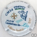 Champagne capsule 64.a Club CM34, 2017