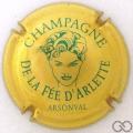 Champagne capsule 3 Or et vert