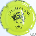 Champagne capsule 7.h Vert-jaune et noir