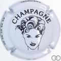 Champagne capsule 7.f Blanc et noir