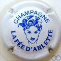 Champagne capsule 6 Blanc et bleu