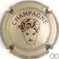 Champagne capsule 7.g Grège et marron