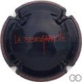 Champagne capsule 50.c La Bergamote, noir
