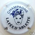 Champagne capsule 7 Blanc et bleu foncé