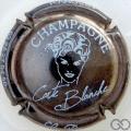 Champagne capsule 28 Nickel et blanc