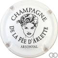 Champagne capsule 2 Blanc et noir